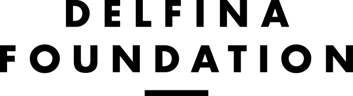 Delfina Foundation, full logo, transparent background.png